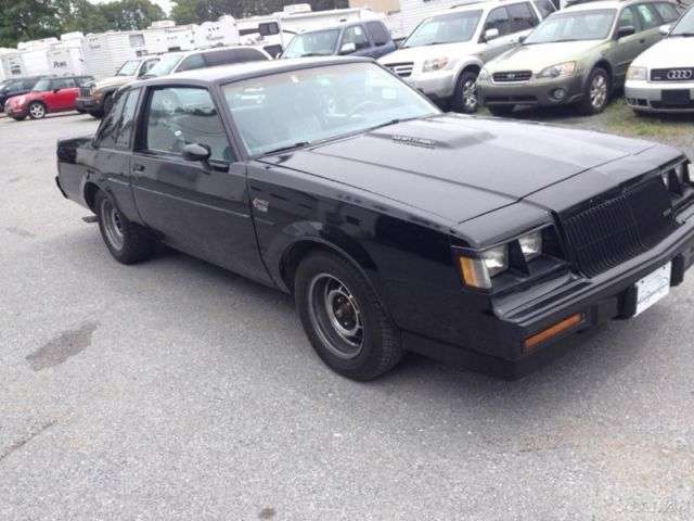 1987 solid original hardtop used turbo 3 8l v6 grand national buick 86 for sale in crystal lake. Black Bedroom Furniture Sets. Home Design Ideas