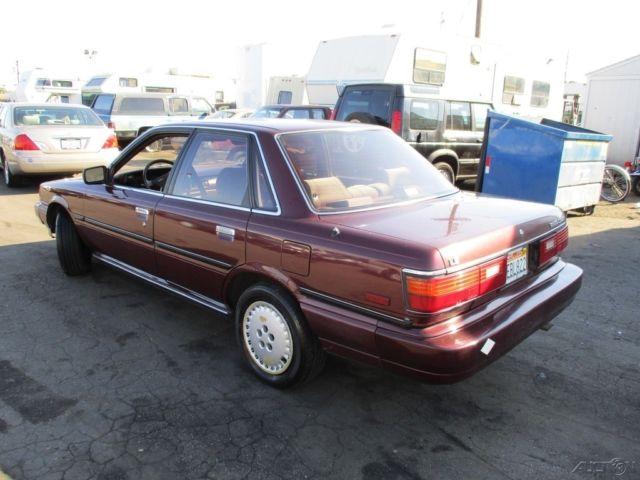 1987 Toyota Camry 4-Door Sedan I4 Automatic NO RESERVE for ...  |1987 Toyota Camry Interior