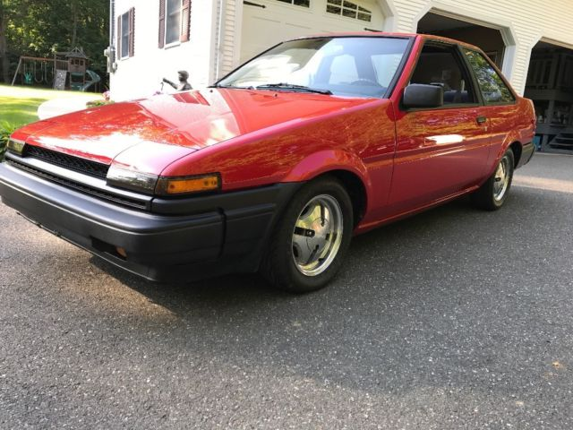 1987 toyota corolla ae86 sr5 rwd coupe for sale photos technical specifications description classiccardb com