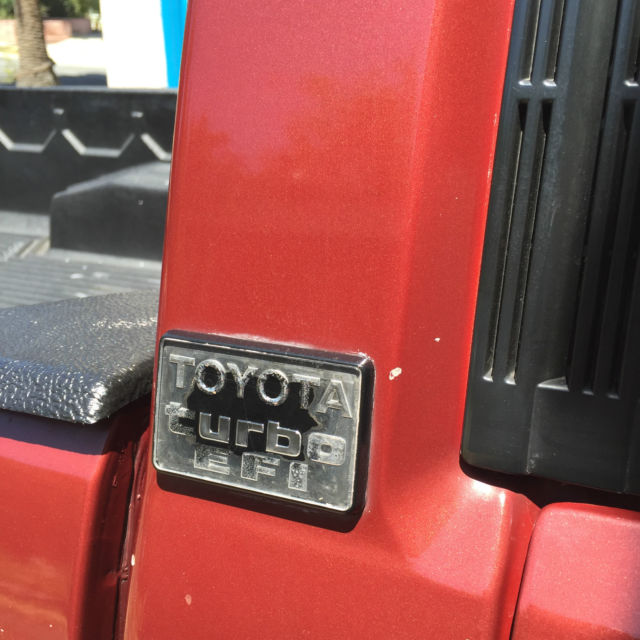 Toyota Pickup 4x4 >> 1987 Toyota Pickup SR5 Turbo Extended Cab Pickup 2-Door 2.4L for sale: photos, technical ...