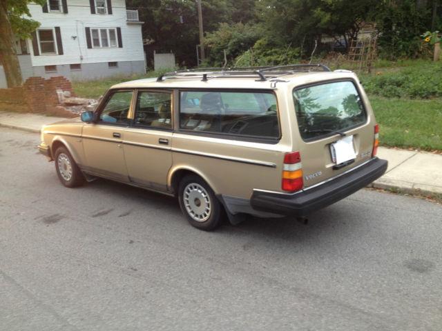 My New Old 1989 Volvo 240 Dl Wagon – Fondos de Pantalla