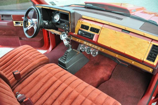 1988 88 Chevrolet Chevy Silverado Prostreet truck 468 ...