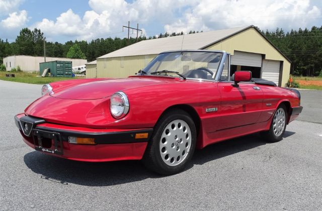 1988 Alfa Romeo Spider Quadrifoglio - conceptcarz.com  |1988 Alfa Romeo Quadrifoglio