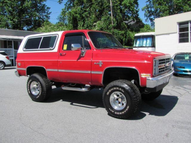 1988 Chevrolet K 5 Blazer 4 X 4
