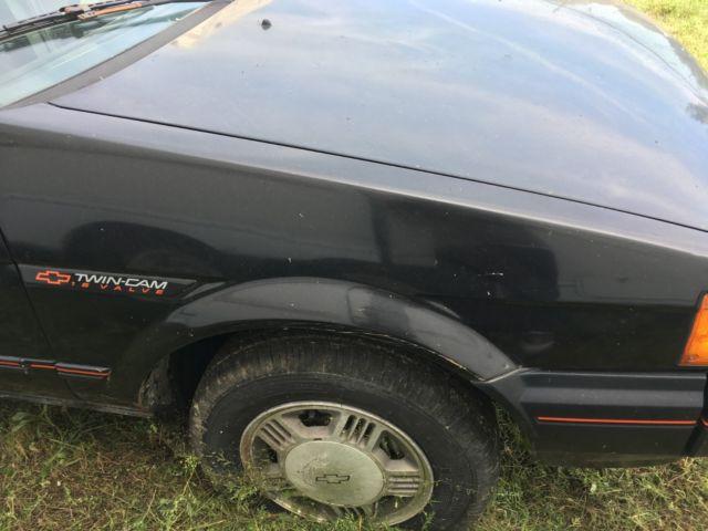 1988 Chevrolet Nova Twin Cam 4 Door Sedan Toyota Corolla
