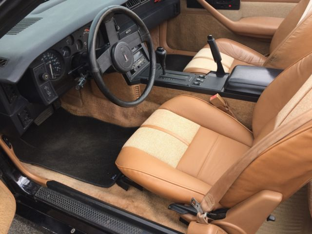 1988 chevy camaro iroc z28 convertible ca original paint low miles rust free. Black Bedroom Furniture Sets. Home Design Ideas