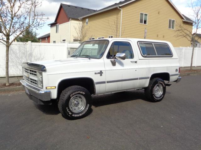 1988 Chevy K5 Blazer Jimmy Gmc 1500 1987 1973 1989 1990 1991 1992