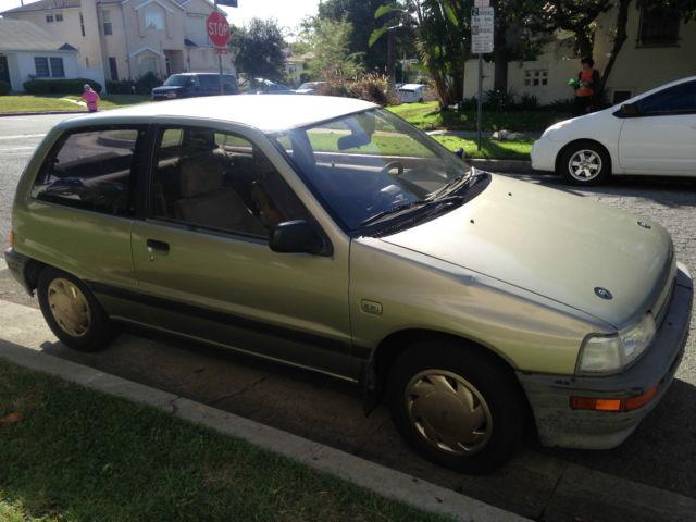 1988 Daihatsu Charade CLS Hatchback 3-Door 1.0L for sale ...
