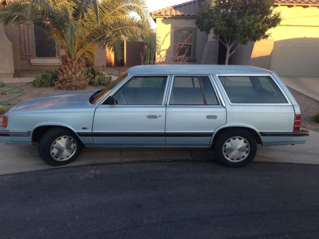 1988 DODGE AIRES WAGON...86,000 ORIGINAL MILES