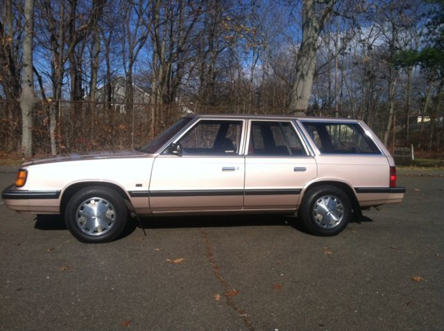Dodge Aries K Wagon K Miles Mint Rare Car on 1988 Dodge Aries