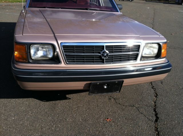1988 Dodge Aries K Wagon 55k Miles - MINT - Rare Car for ...