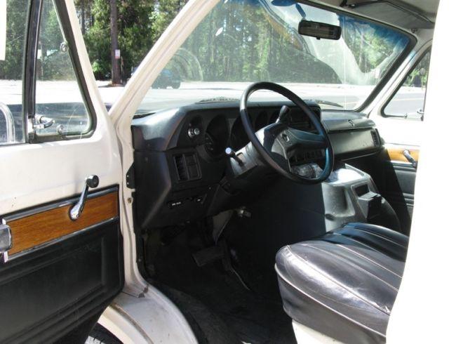 1988 DODGE RAM 350 VAN EXTENDED LENGTH for sale: photos