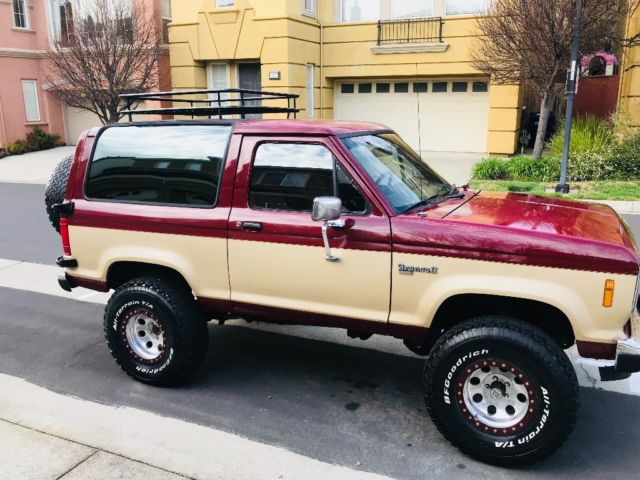 1988 Ford Bronco 2 Xlt 302 Ford V8 Engine 5 Speed Manual Transmission 4wd For Sale  Photos