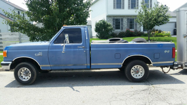 1988 ford f150 4x4 custom for sale in lancaster ohio united states. Black Bedroom Furniture Sets. Home Design Ideas
