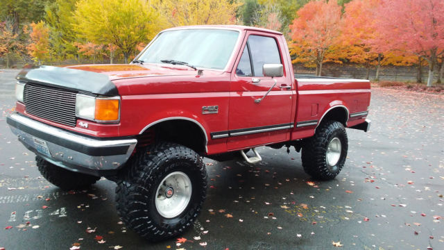 1988 Ford F150 4x4 Short Bed Lifted Rebuilt Motor For Sale