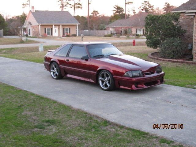 1988 ford mustang gt hatchback 2 door 5 0l 1989 1990 1991 1992 1993 no reserve for sale in. Black Bedroom Furniture Sets. Home Design Ideas