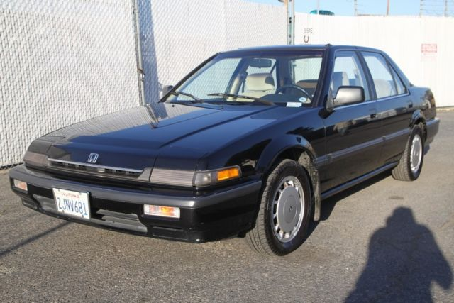 1988 honda accord lxi sedan 90k original miles automatic 4 cylinder no reserve for sale in. Black Bedroom Furniture Sets. Home Design Ideas