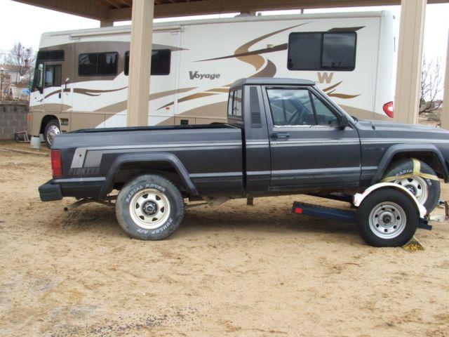 1988 jeep comanche truck