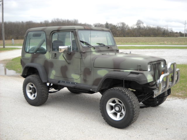 1988 Jeep Wrangler Camo For Sale Photos Technical