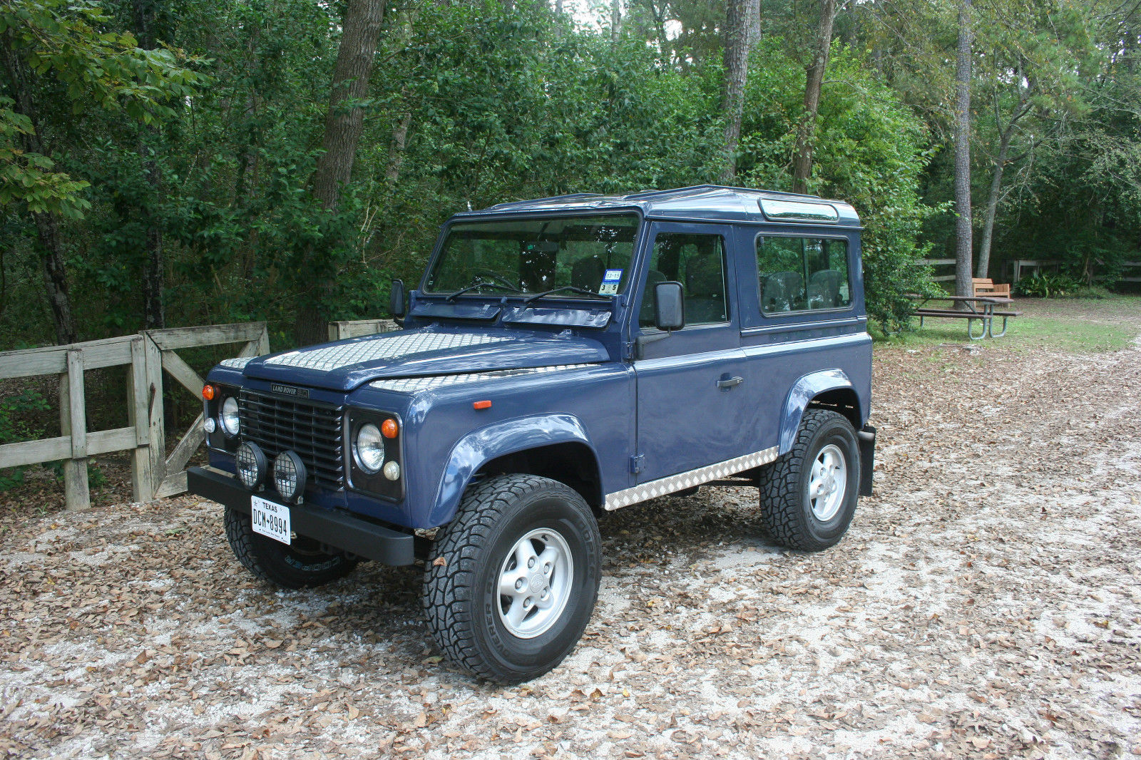 1988 land rover defender 90 newly rebuilt motor for sale in friendswood texas united states. Black Bedroom Furniture Sets. Home Design Ideas