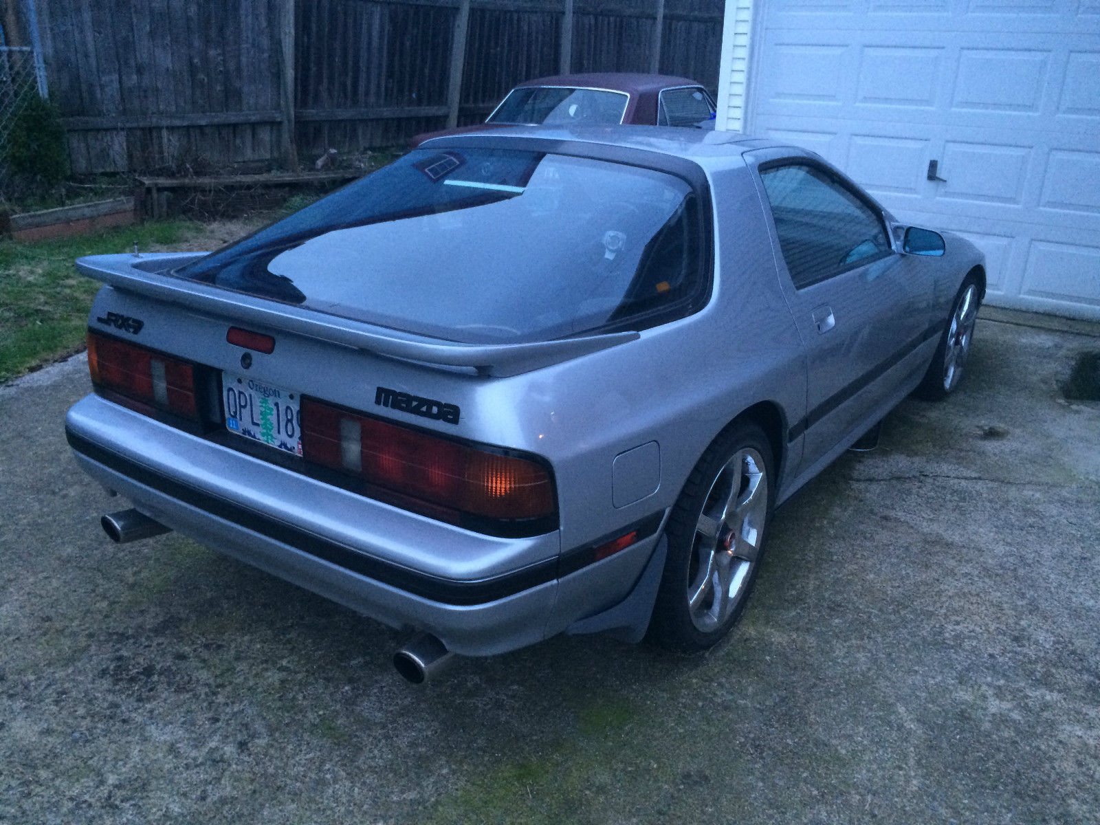 1988 mazda rx 7 rx7 fc3s with 5 7l v8 chevy 350 and camaro t5 for sale in portland oregon. Black Bedroom Furniture Sets. Home Design Ideas