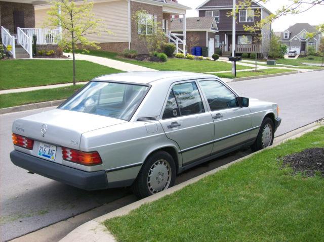 1988 mercedes benz 190e 2 3 sedan 4 door 2 3l for sale in for 1988 mercedes benz 190e