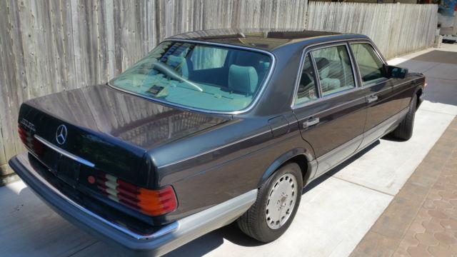 1988 mercedes benz 420 sel for Mercedes benz s 420
