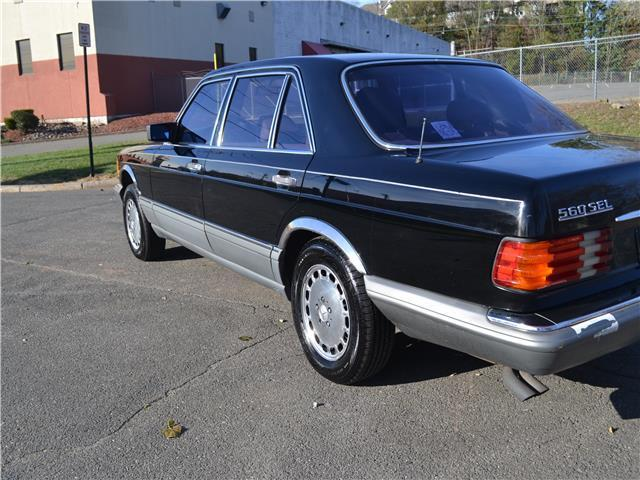 1988 mercedes benz 560 series 560sel 139 400 miles black 5 for 1988 mercedes benz 560sel