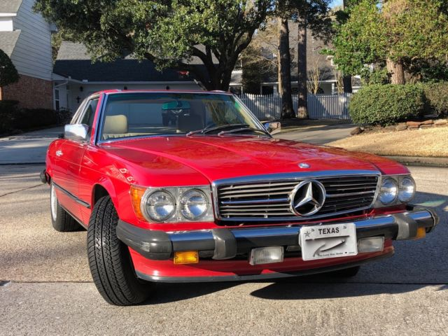 1988 mercedes benz 560 sl 85k mi for Mercedes benz bloomfield mi