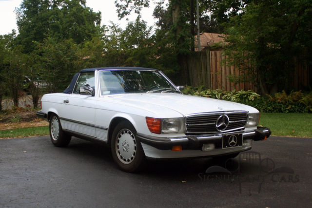 1988 mercedes benz 560 sl pristine low mile example for Mercedes benz 560 sl