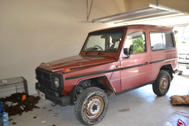 1988 mercedes benz g300 diesel g wagen 4x4 2 door 66 000 for Mercedes benz g300 for sale