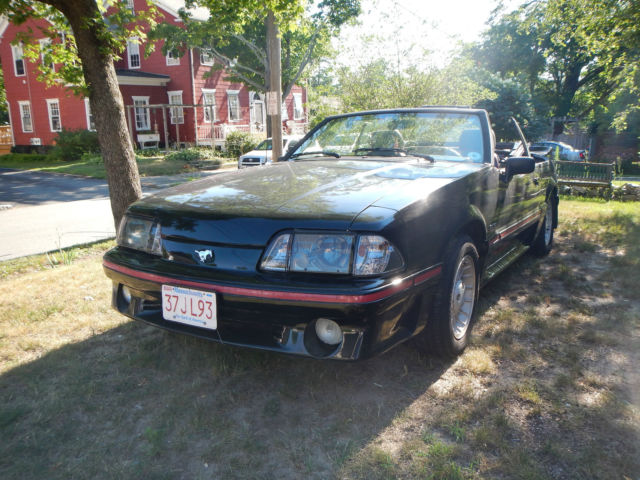 1988 mustang gt fox body convertible for sale in fairhaven massachusetts united states. Black Bedroom Furniture Sets. Home Design Ideas