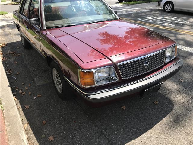 1988 Plymouth Reliant America 36 989 Miles Maroon 4 Door 4