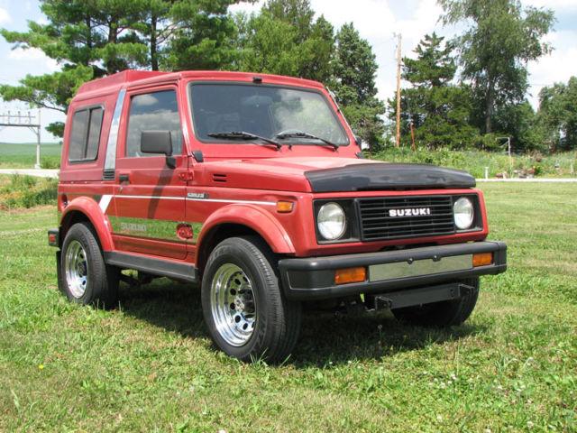 Suzuki Samurai Hardtop Removable