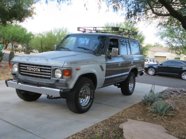 1988 toyota fj62 landcruiser 4wd rust free az truck for. Black Bedroom Furniture Sets. Home Design Ideas