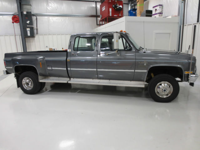 1988 v30 4x4 crew cab dually 454fi rust free k30 400 auto for sale in purcellville virginia. Black Bedroom Furniture Sets. Home Design Ideas