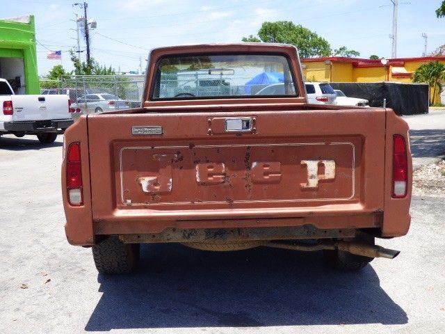 Jeep J X Pickup Truck L Original Condition Low Miles No Reserve