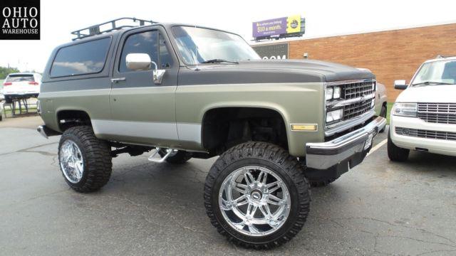 1989 4x4 Lifted K5 Blazer Like Jimmy Bronco suburban tahoe ...