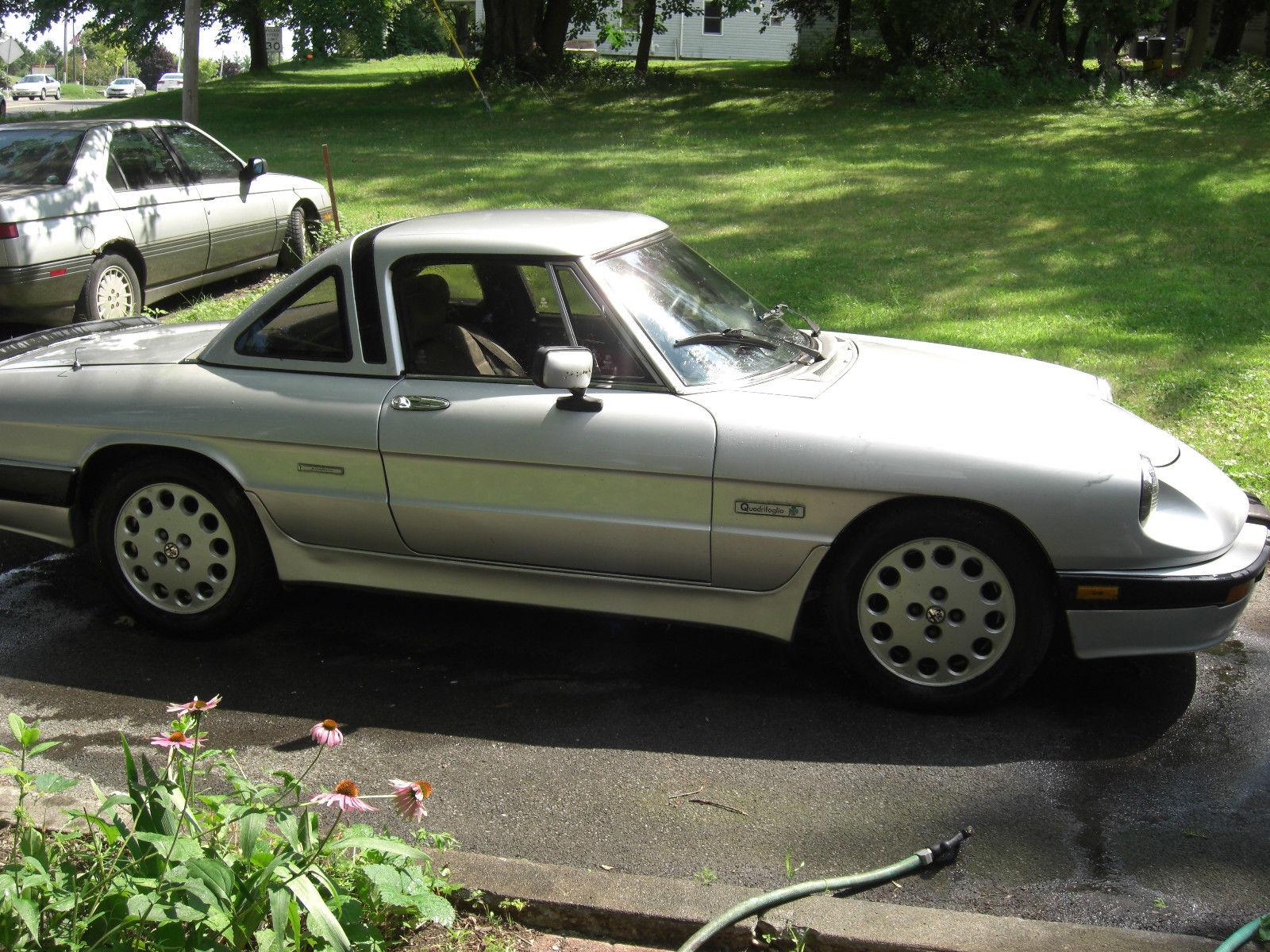 1989 Alfa Romeo Spider Quadrifoglio For Sale In Liverpool New York