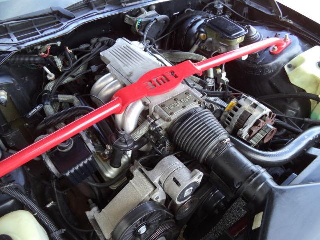 1989 Camaro Iroc Z28 Convertible 305 Tpi Auto Black Exterior With Red Interior For Sale In