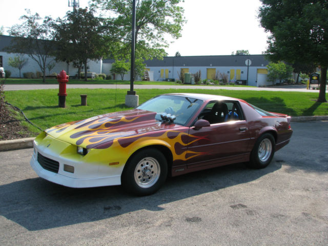 1989 CHEVROLET CAMARO RS PROSTREET NOS STROKER for sale in