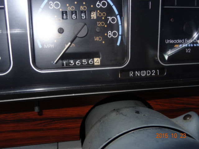 1989 Chevrolet Caprice Classic Brougham Sedan 4-Door 5 0L