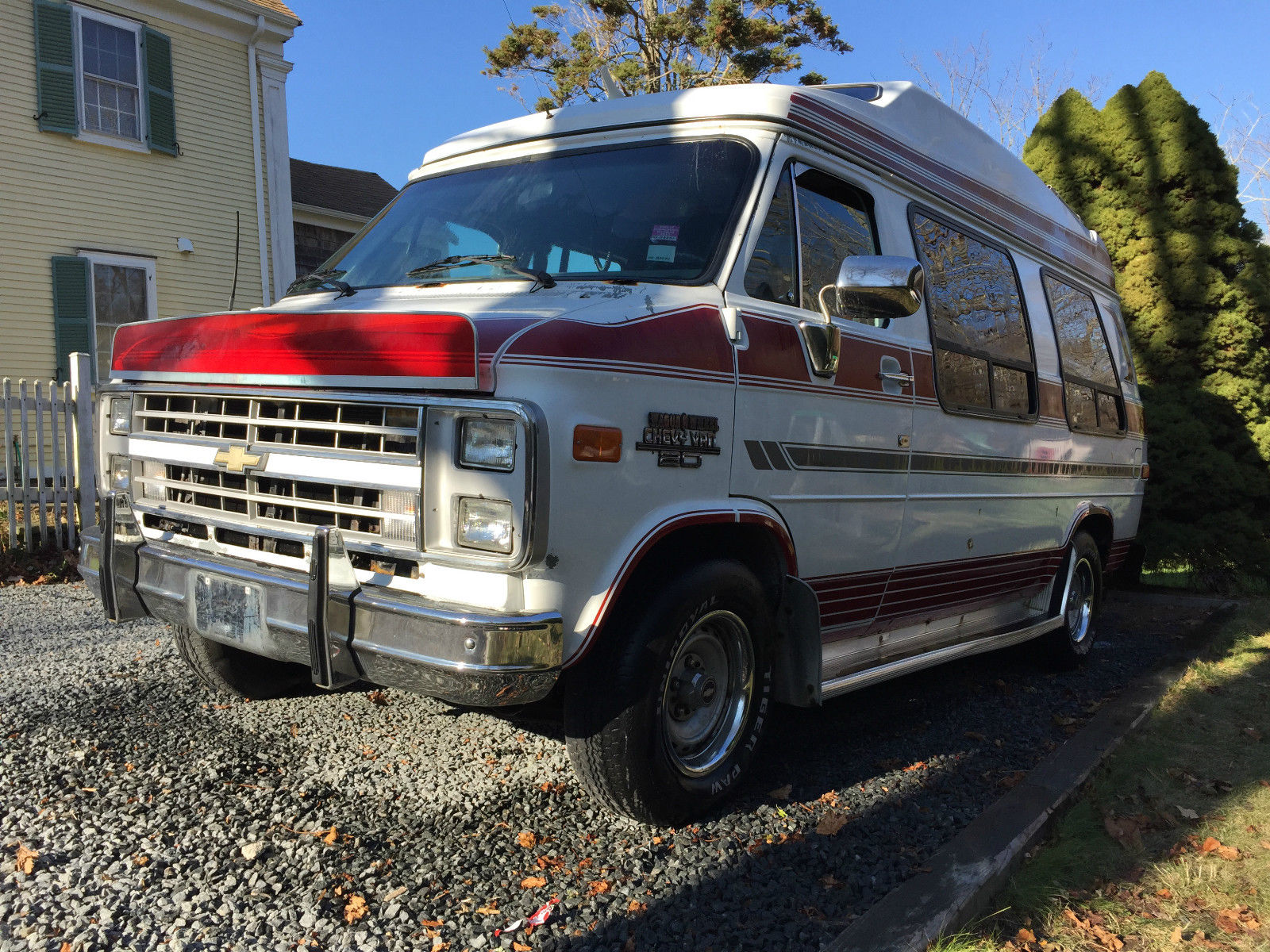 Under Bed Storage With Wheels >> 1989 Chevrolet G20 Wagon Wheels Custom Conversion Van for sale in Barnstable, Massachusetts ...