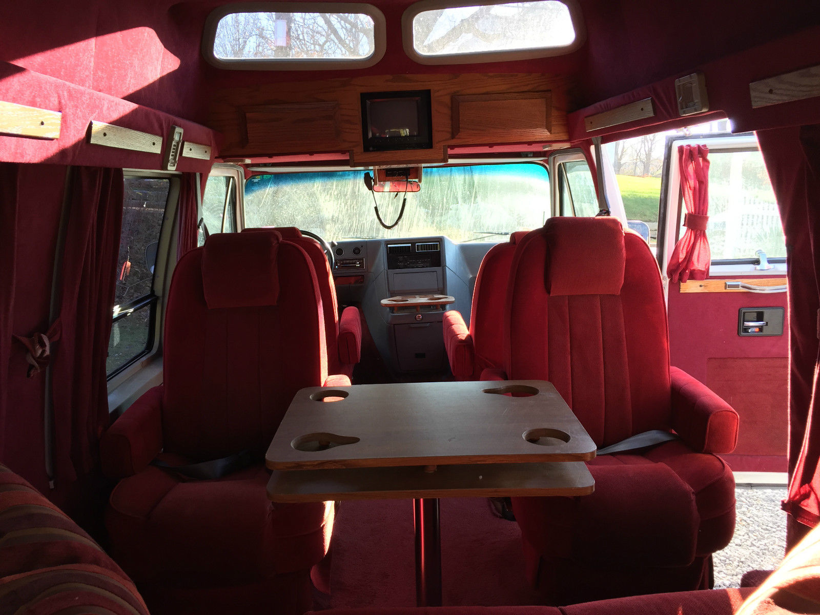 1989 Chevrolet G20 Wagon Wheels Custom Conversion Van For