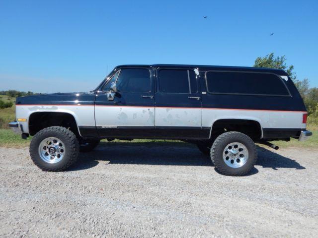 1989 Chevrolet Suburban 2500, Fuel Injected 350 V-8 ...