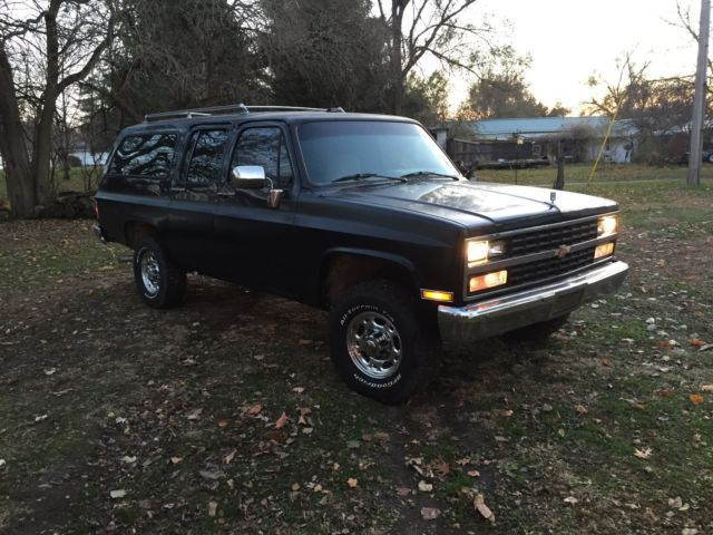 1989 chevrolet suburban diesel. Black Bedroom Furniture Sets. Home Design Ideas
