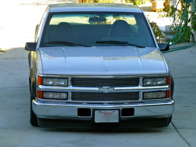 Salvage Title California >> 1989 CHEVY CK1500 CUSTOM NASCAR TRIBUTE LOWERED SLAMMED ...