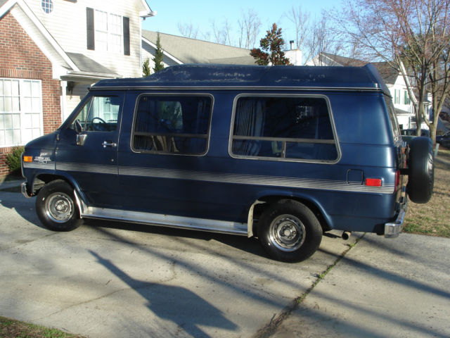 1989 Chevy G20 Conversion Van Chevrolet