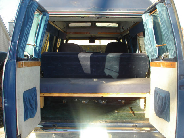 1989 Chevy G20 Conversion Van For Sale In Apex North