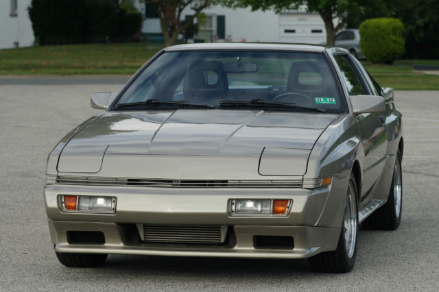 1989 Chrysler Conquest Tsi Turbo Charged Spots Car 58k